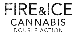 Logotipo del Fire&Ice Cannabis Double Action