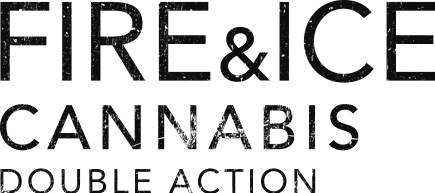 Logotipo del Fire&Ice Cannabis Double Action