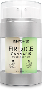 Envase crema deportiva Fire&Ice Cannabis Double Action