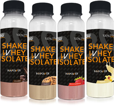 Botellas de proteínas monodosis Shake Whey Isolate