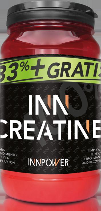 Bote de creatina Inn creatine