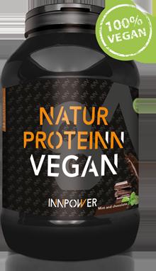 Imagen del bote de la proteína vegetal vegana de Innpower