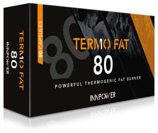 Quemagrasas multizona Termo Fat 80 cásulas Innpower