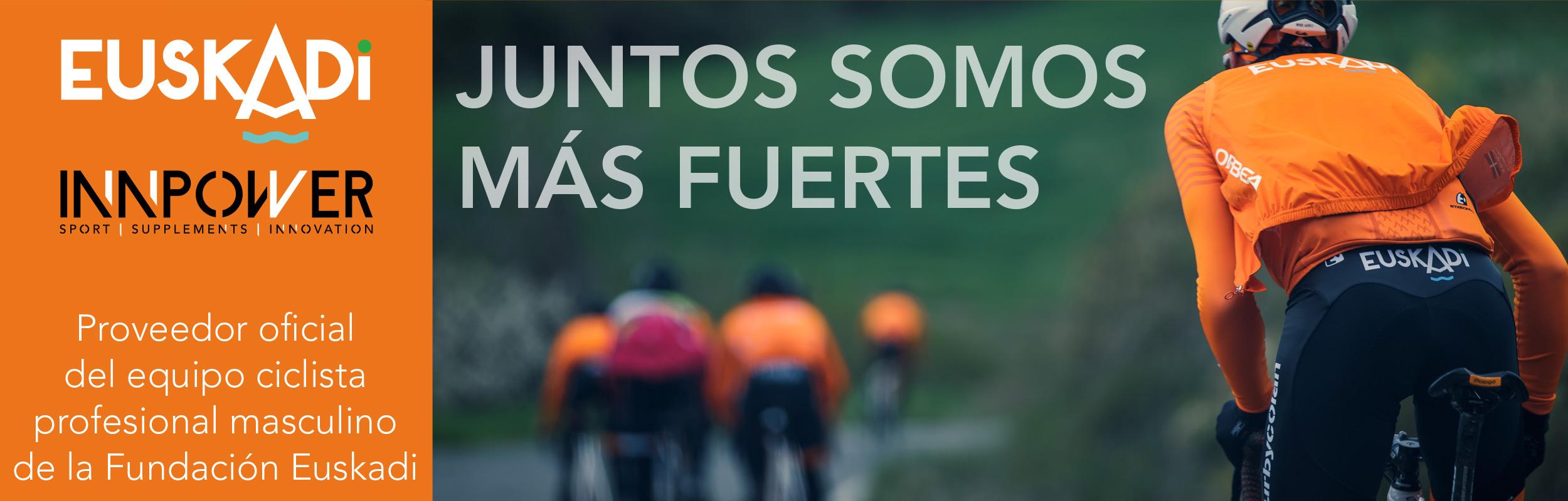 Innpower Proveedor oficial del equipo ciclista profesional masculino de la Fundación Euskadi